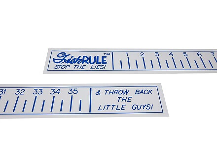 Fish Ruler - Fishing Measuring Tape - 36 Inch Fish Measuring Tape for Boat - by FishRule