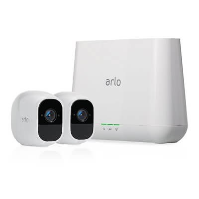Arlo Pro 2  Wireless Home Security Camera System with Siren Rechargeable Night vision