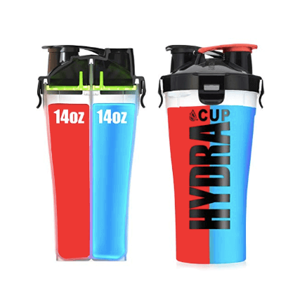 Hydra Cup Dual Threat Protein Shaker Bottle