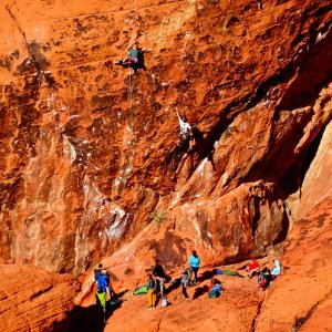 Red Rock Canyon - Climbers