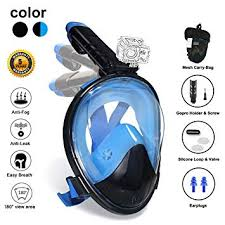 Ufanore Full Face Snorkel Mask