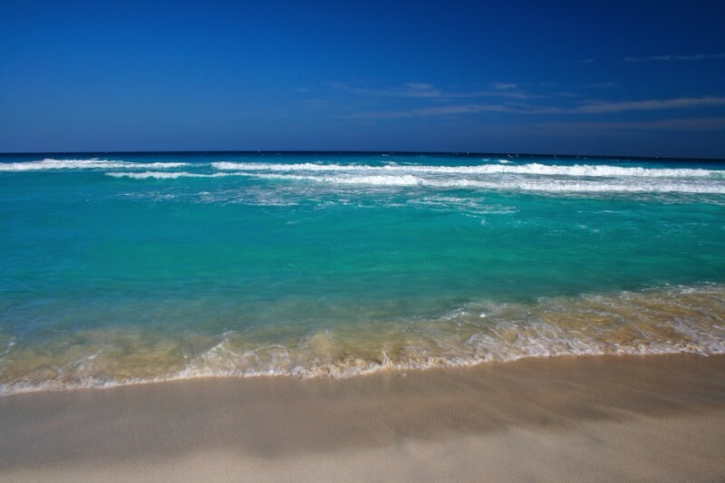 Great places in Mexico - Cancun beach