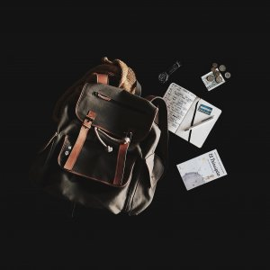 How to Choose the Perfect Daypack - papers and notebooks