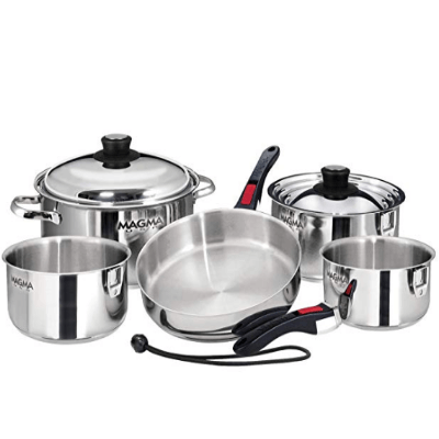 Magma Products 10 Piece Gourmet Cookware Set