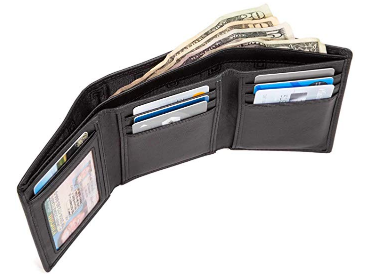 ID Stronghold Tri-fold RFID Wallets