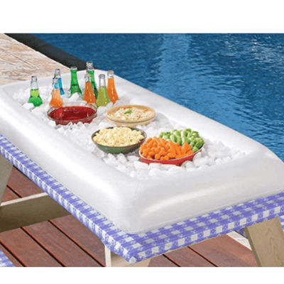Moon Boat Inflatable Serving/Salad Bar Pool Accessories