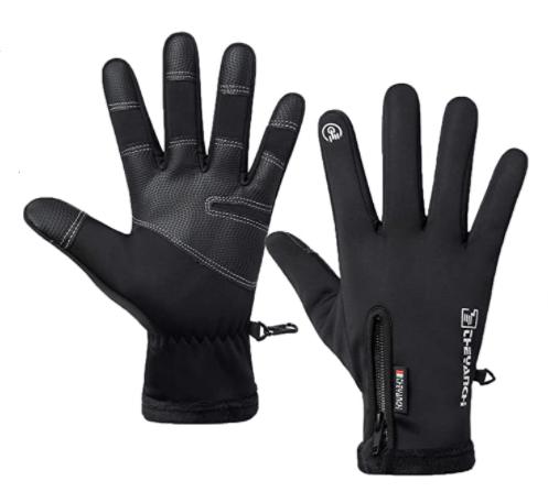 LJCUTE Winter Warm Fishing Gloves