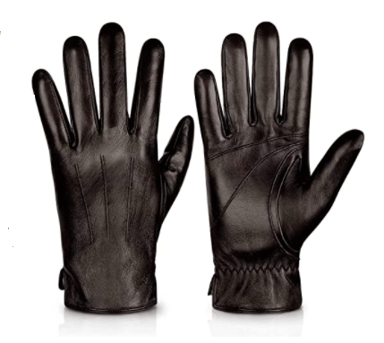 Alepo mens leather gloves