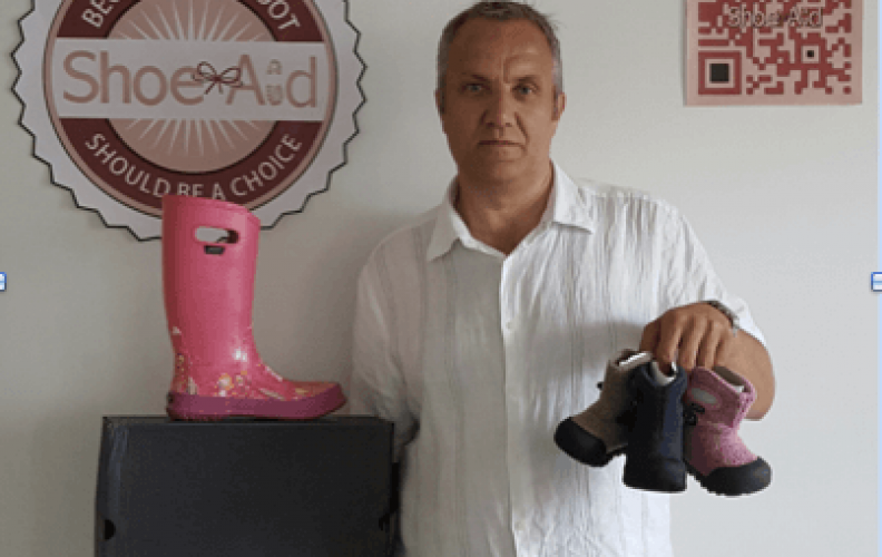 BOGS donate 750 pairs of boots to Shoe Aid