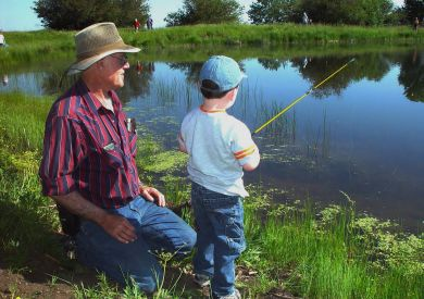 When Fishing Mends Relationships