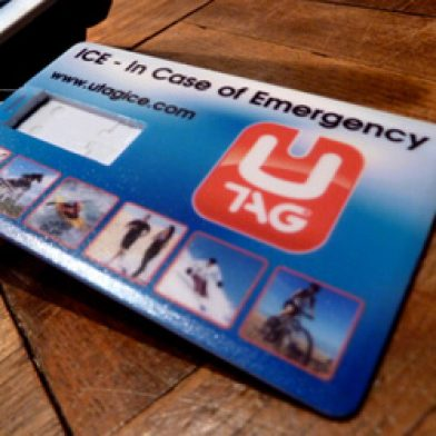 UTAG Ice (In Case of Emergency)