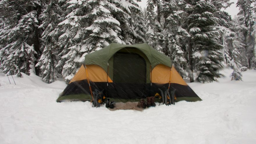 How To Safely Heat A Tent