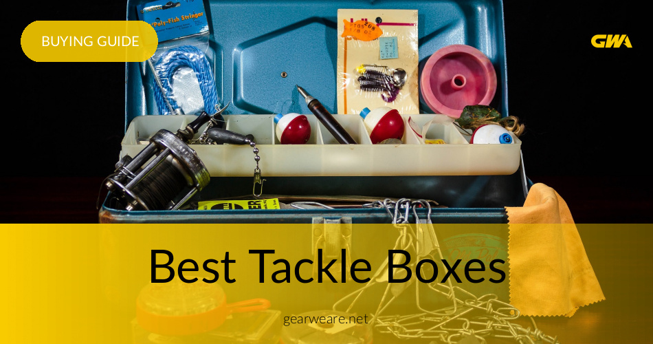 Best Tackle Boxes Reviewed 2019 | GearWeAre com