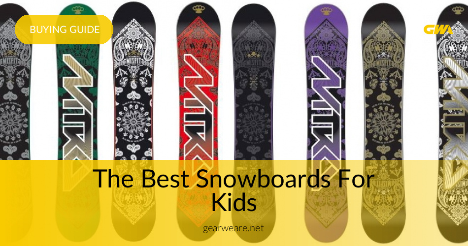 the best snowboards for kids reviewed for 2018 gearweare com rh gearweare com Snowboard Bindings used snowboard price guide