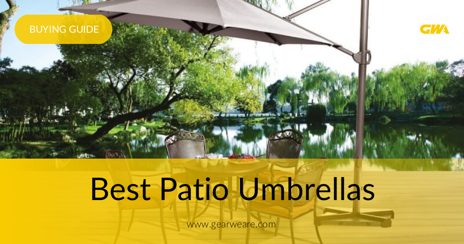 - Best Patio Umbrellas Reviewed & Rated 2019 GearWeAre