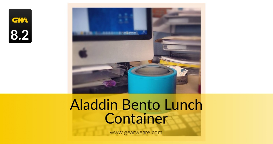 the aladdin bento lunch container reviewed for 2018 gearweare. Black Bedroom Furniture Sets. Home Design Ideas